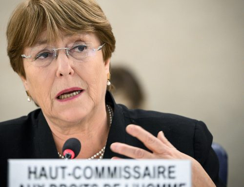 """Bachelet a Israel: """"La anexión es ilegal. Punto"""""""