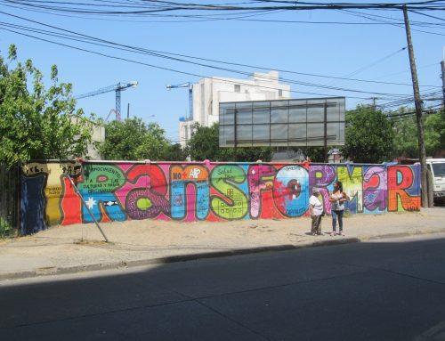 El arte rebelde en los muros de Talca