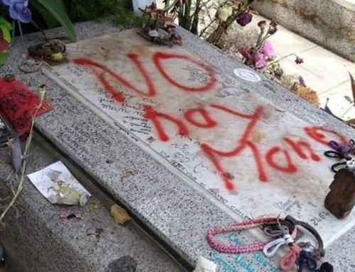Fuerte repudio al ataque vandálico que sufrió la tumba de Víctor Jara