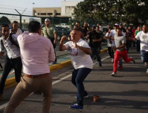 La violencia marca la llegada de Guaidó a Venezuela