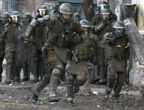 Marzo a la vista: manifestaciones y represión en Plaza Dignidad