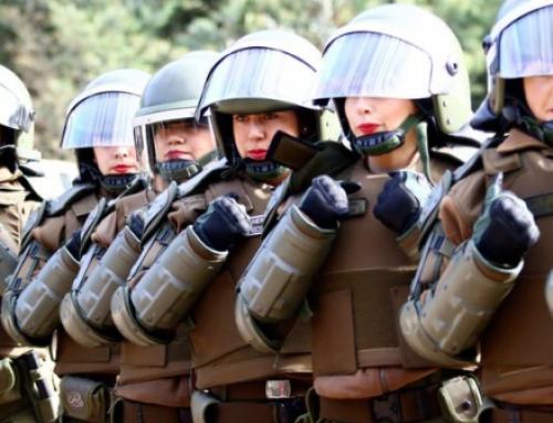 Gobierno destinará a unas 1.600 carabineras para reprimir la marcha del 8 de marzo en Santiago