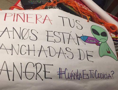 Poncio Pilatos Piñera llama a erradicar la violencia