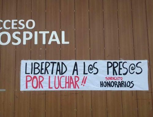 Sindicato exige la libertad de los presos políticos por la revuelta 18-O