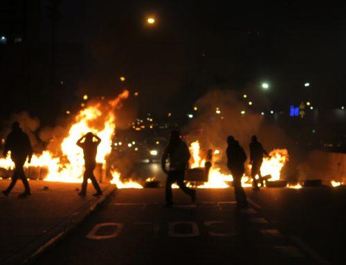 Se viene marzo: Protestas y barricadas en diversos puntos del país a cuatro meses del 18-O
