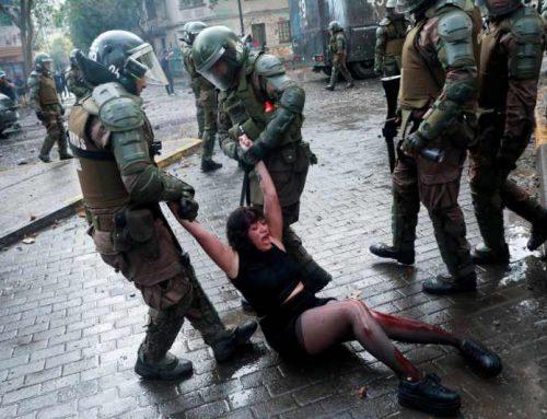 Chile, estado policial: son casi 10 mil las personas detenidas en protestas desde el 18 de octubre