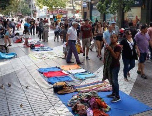 Sin empleo formal, el comercio ambulante se multiplica