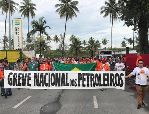 Brasil: Trabajadores de Petrobras se plantan contra Bolsonaro