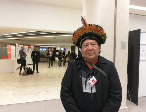 ONU: Davi Kopenawa denuncia riesgo de genocidio de los pueblos indígenas en Brasil