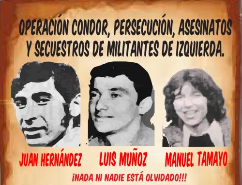 Operación Cóndor: Este 3 de abril cumplen 44 años detenidos desaparecidos