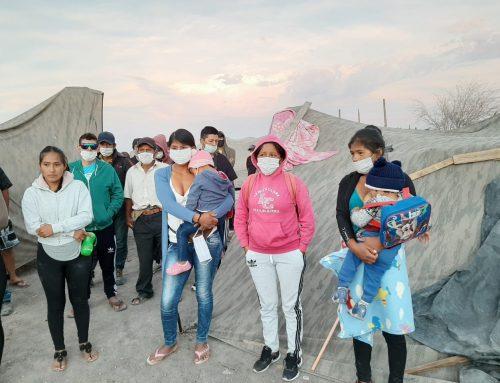 El drama de más de 200 bolivianos bloqueados por el Covid-19 en Huara