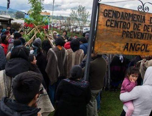 Organización mapuche en alerta por condición de presos políticos; llamado a una movilización general