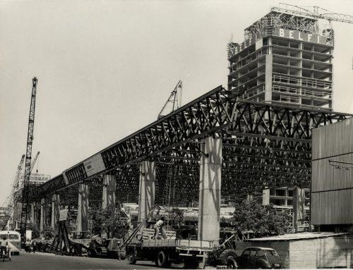 Inédito archivo digital desentraña la historia del edificio GAM
