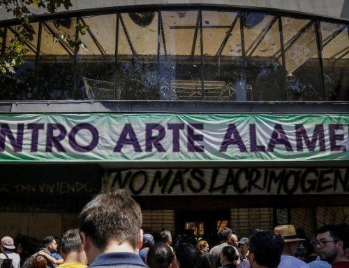 Solicitan diligencias para investigar operativos de Carabineros el día del incendio de Centro Arte Alameda
