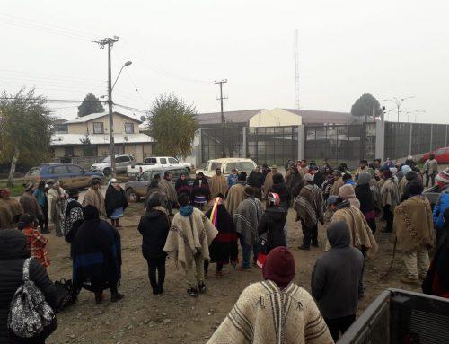 En grave estado de salud están los presos políticos mapuche en huelga de hambre