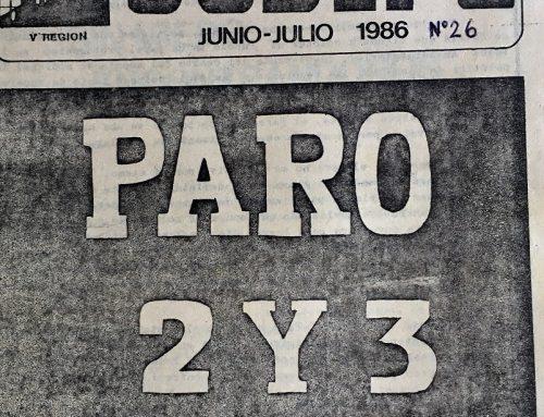 Rescatando la historia de la lucha popular: el paro del 2 y 3 de julio de 1986