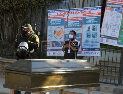 Covid-19 descontrolado en Bolivia: Funerarias en colapso y cadáveres en las calles