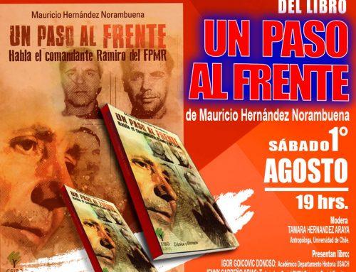 """Lanzamiento y liberación digital del libro """"Un paso al frente"""""""