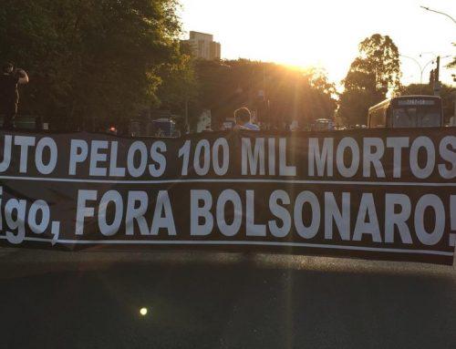 """Más de 100 mil muertos por corona virus en Brasil y en medio de la pandemia Bolsonaro firma convenio de """"cooperación militar"""" con Estados Unidos"""
