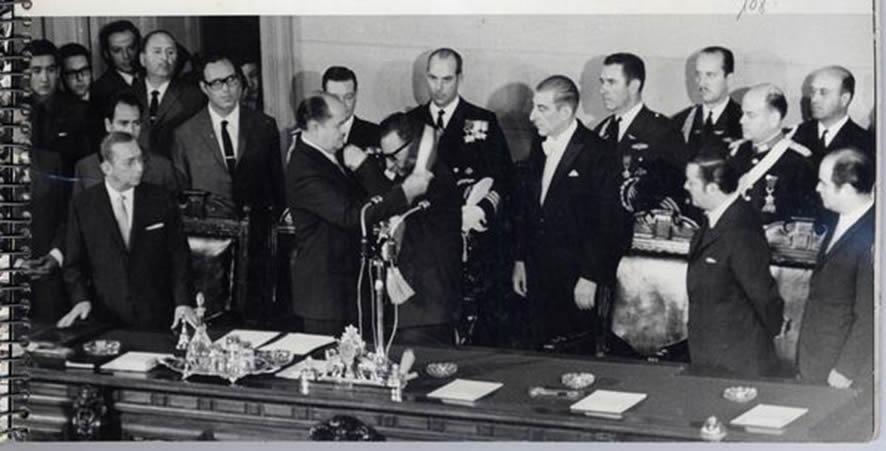 el 4 de noviembre de 1970 asume la presidencia salvador Allende