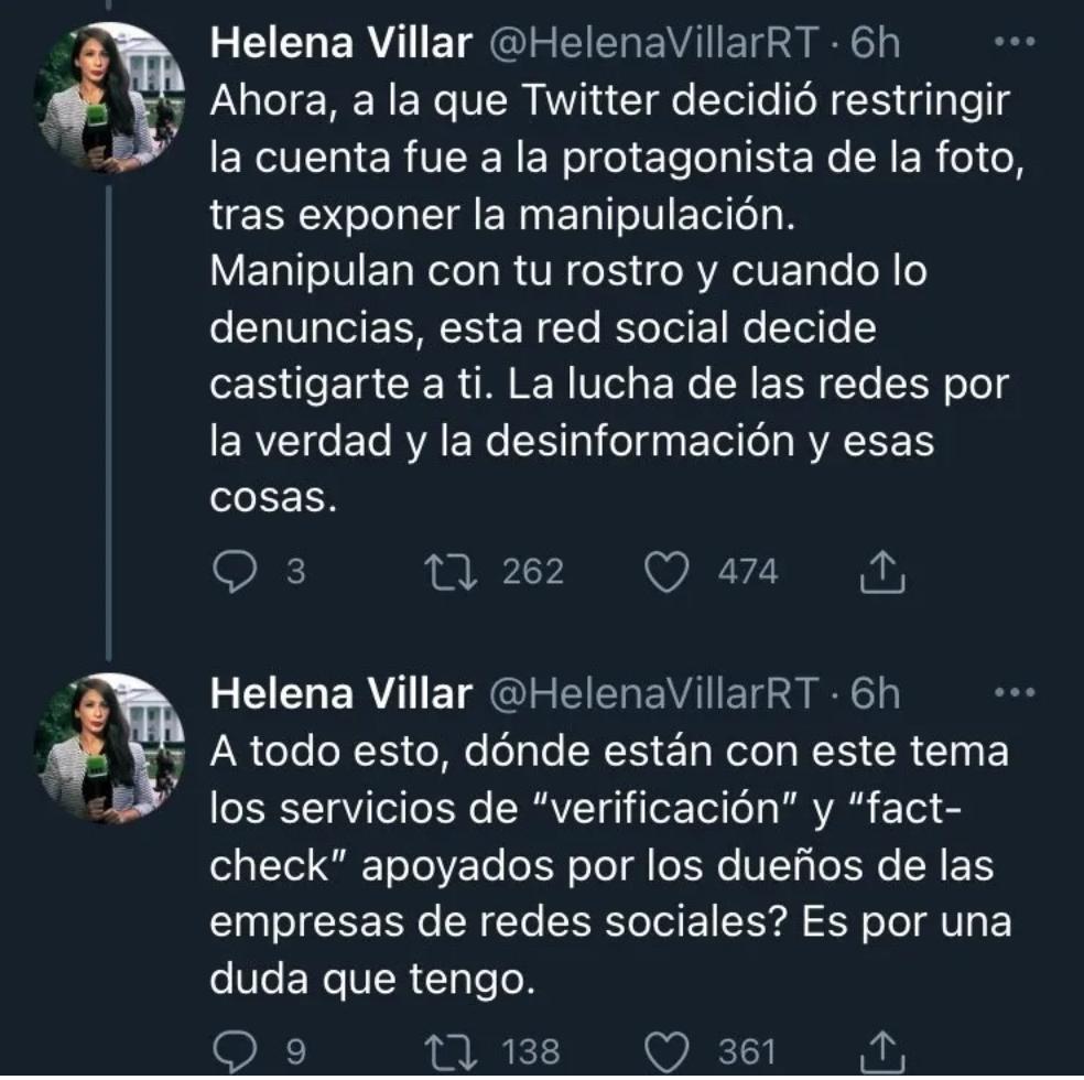 El tuit de Michelle Bachelet con la falsa imagen de una cubana en las redes sociales como campo de batalla - El Clarin de Chile